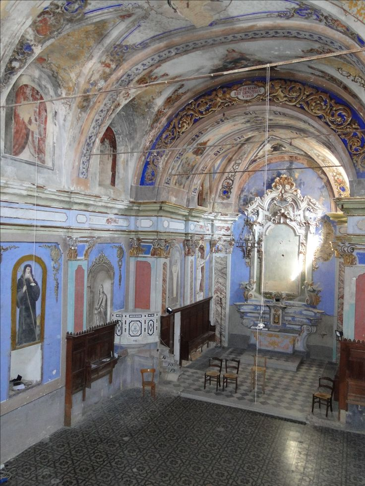 View of the baroque chapel
