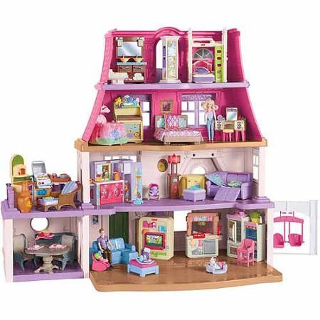 155 best doll house fisher price loving family images on pinterest doll houses dollhouses and. Black Bedroom Furniture Sets. Home Design Ideas