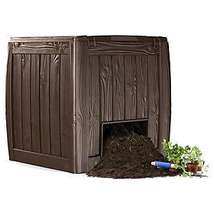 Keter                Deco Compostera 340 Litros con una compostera por supuesto