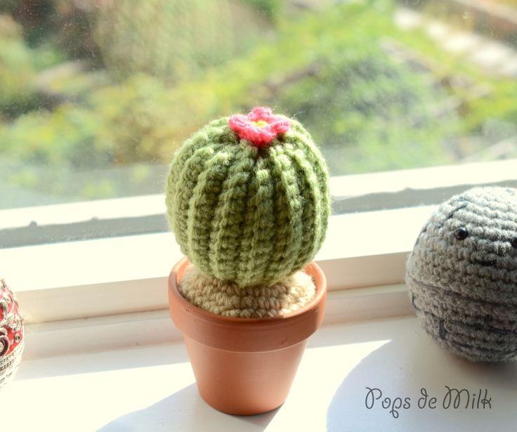DIY Crochet Cactus Pattern - Pops de Milk
