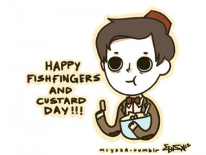 Happy Fish Fingers and Custard Day!: 3Rd Anniversaries, Happy Fish, Doctors Who, Fandom Personalti, Mmmmfish Fingers, Fish Custard, April 3Rd, Multiplication Fandom, Famous Fish