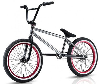 Win a Chain Reaction Cycles Vandals BMX bike, free entry.