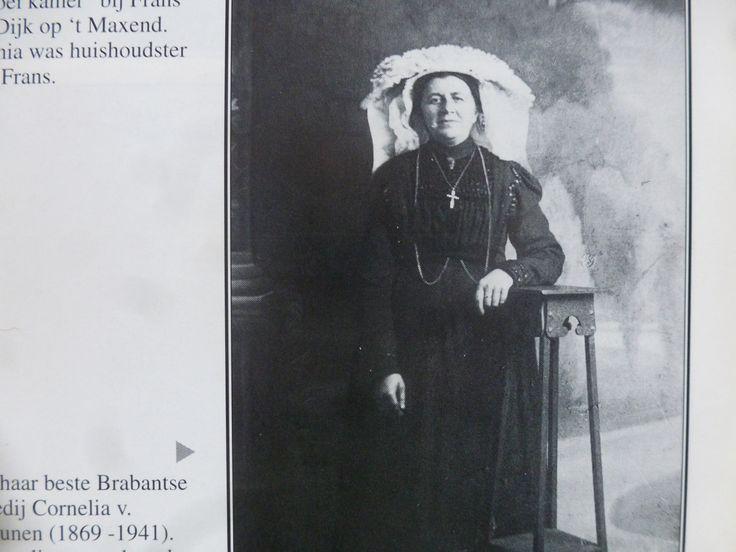Nistelrode, Cornelia van Drunen(1869-1941) Cornelia was gehuwd met Frans van Geffen (1868-1955) en woonden op Weijen.
