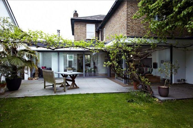 idée d'agrandissement de maison et déco de terrasse