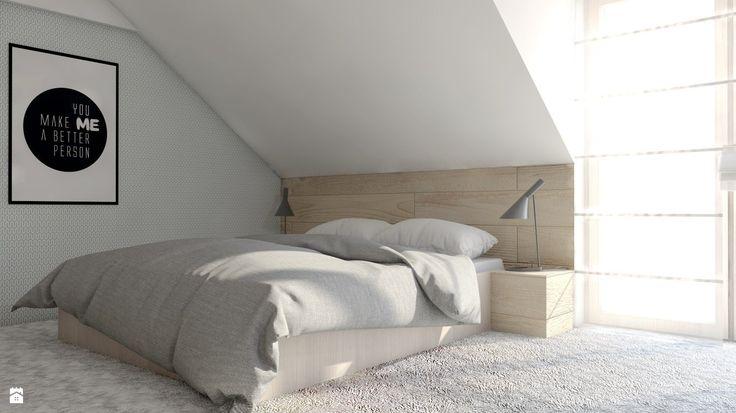 Sypialnia styl Skandynawski - zdjęcie od BAGUA Pracownia Architektury Wnętrz - Sypialnia - Styl Skandynawski - BAGUA Pracownia Architektury Wnętrz
