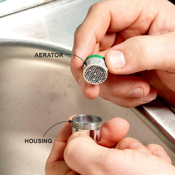 Restore Free Flow to a Faucet - 10-Minute House Repair and Home Maintenance Tips: http://www.familyhandyman.com/smart-homeowner/diy-home-improvement/10-minute-house-repair-and-home-maintenance-tips#10