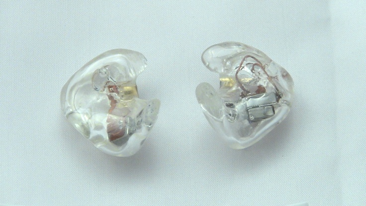 Get your in ear monitors customized today by www.inearcustom.com for only $119 In Ear Custom clear shell Shure SE 425   http://www.inearcustom.com