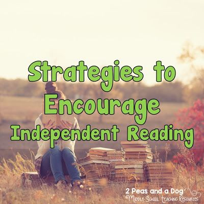 Great ideas for keeping students engaged during independent reading. Assessment ideas shared as well from the 2 Peas and a Dog blog.