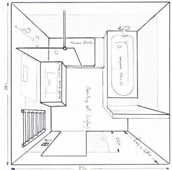 Salle De Bain De 6m2 Baignoire Douche Wc Recherche Google Bathroom Bathroom Layout In 2020 Bathroom Plans Bathroom Layout Diy Bathroom Remodel