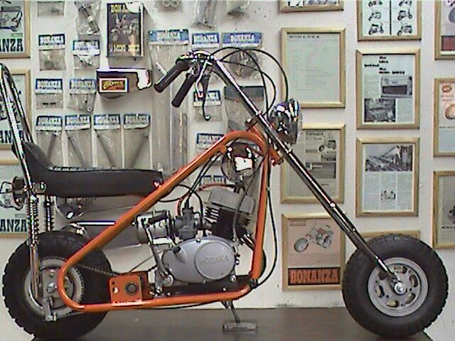 Beautiful One Awesome Bonanza Mini Bike!