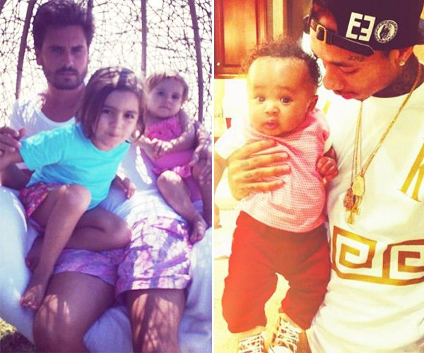 Tyga Could Teach Scott Disick About Being A Good Parent — Think Kris & Bruce Jenner