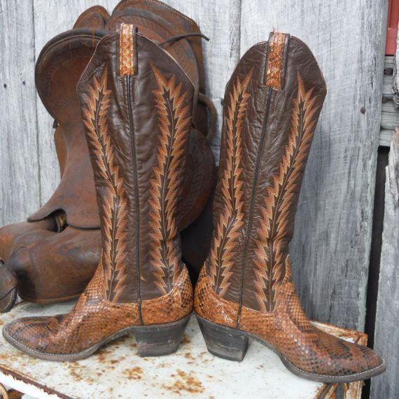 1000  ideas about Snakeskin Cowboy Boots on Pinterest | Cowgirl ...