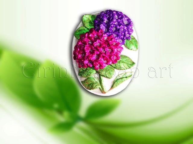 Hydrangea 3 soap