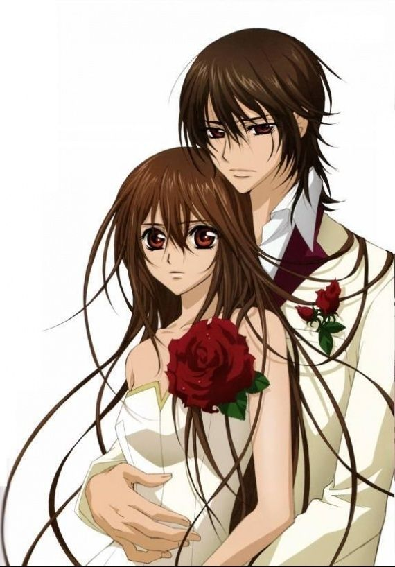 Kaname and Yuki from Vampire Knight :)