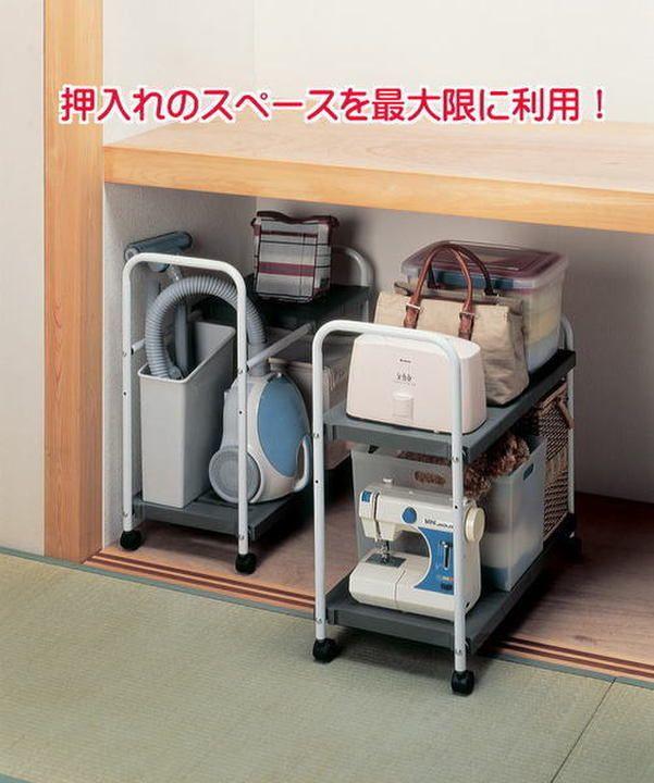 空間利用で収納力アップ!出し入れラクラク押入れ収納術   mamanoko(ままのこ)