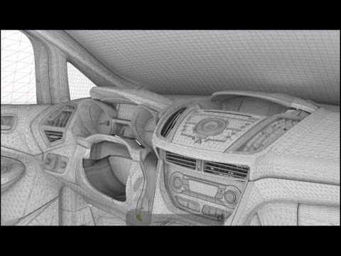 "CGI VFX Making of HD: ""Ford Cmax TVC"" by Analog Studios"