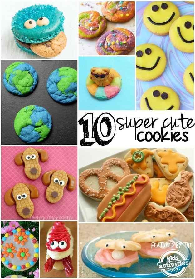 Crazy Cute Cookies
