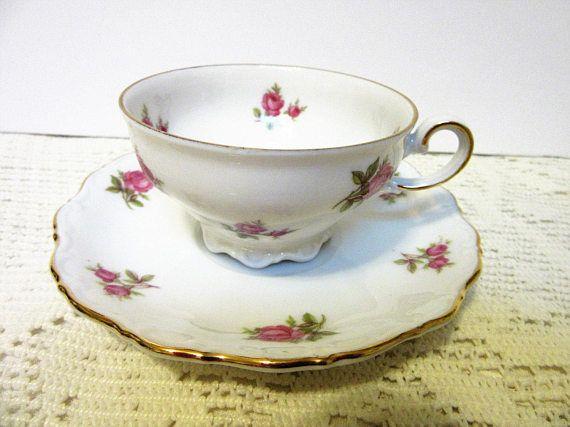 Tea Cup Coffee Tea Fine Bone China Porcelain Bavaria Western Mit