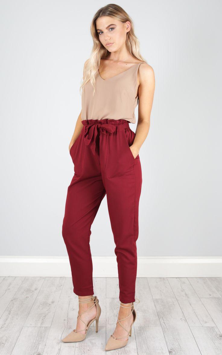 showpo, showpo pants, wine, wine pants, pants