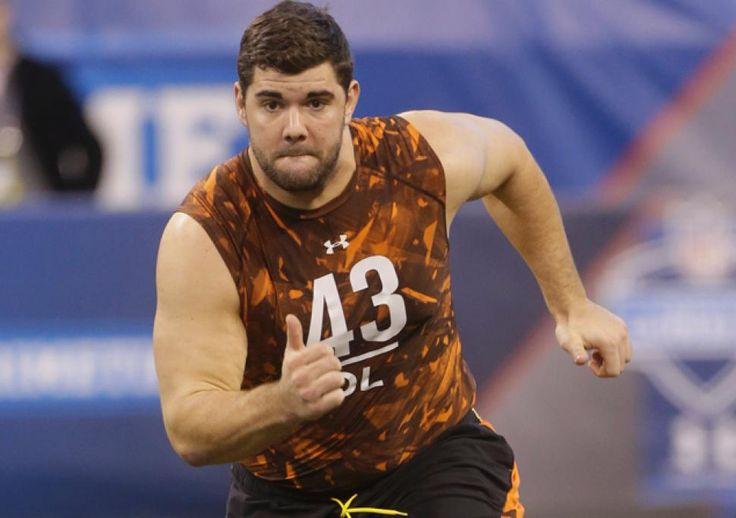 Justin Pugh at the NFL Combine