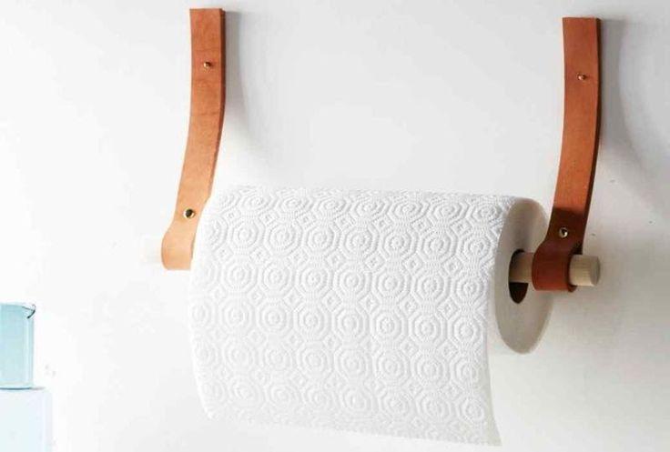 Tu Organizas.: Suporte de papel toalha, faça você mesmo