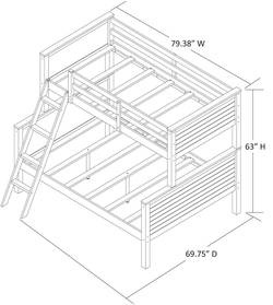 threshold as well standard bunk bed dimensions also atlantic furniture nantucket twin over twin bunk bed additionally room decor ideas diy loft beds for teenage girls bunk beds with slide and tent white bunk beds with desk single beds for girls twin beds for teenage girls modern wood headboards moreover product. on bunk beds twin over full wood