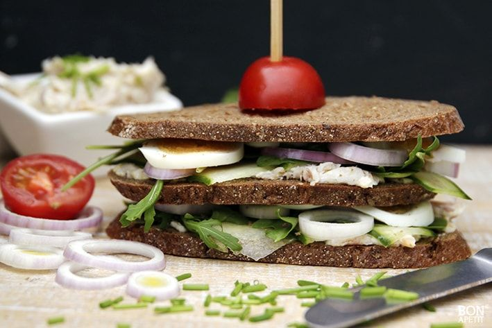 Forel sandwich, een heerlijk recept van BonApetit Foodblog