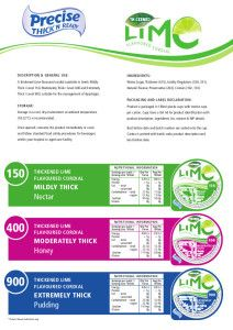 Precise Cups Spec sheets for Lime and Raspberry