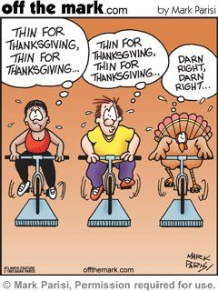 Don't Let Thanksgiving Derail Your Progress - lots of tips to help keep you healthy this holiday season. http://operation-fit.com/dont-let-thanksgiving-derail-your-progress/: