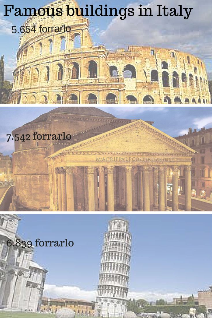 Famous buildings in Italy Juanmi Grau