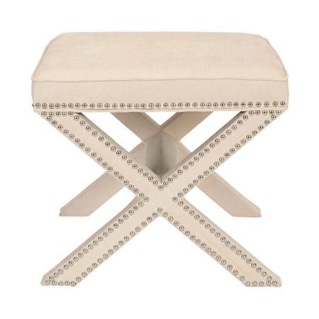 """The """"X"""" foot stool in 5 Colors $329"""