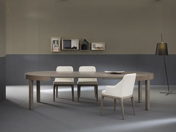 Finest zed extending table by riflessi design riflessi with mobili antichi bianchi - Mobili decapati bianchi ...
