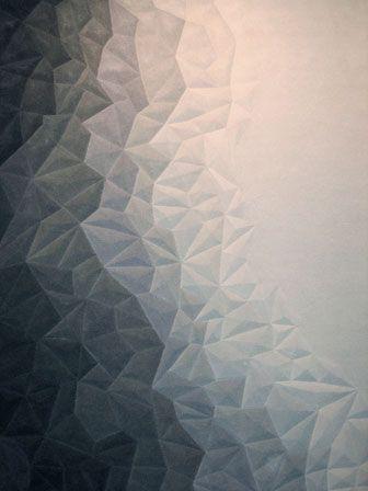 geometric carpet, amazing - Top Floor - Esquire Evolution  Esquire Evolution rug in wool by Top Floor, 44-20-7795-3333; topfloorrugs.com.