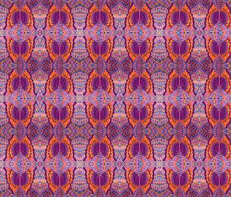 Purple Butterfly Orange Boarder by p__d__frasure