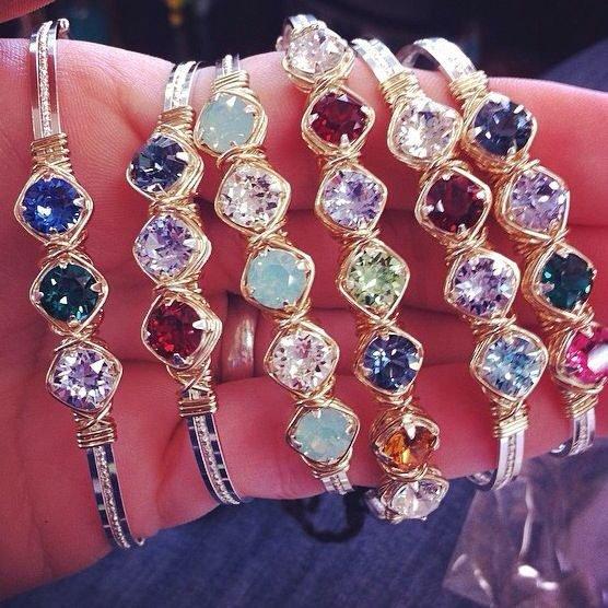 Between sisters in Pontotoc, Ms..  Earth Grace bracelet....birthstones your children or just the colors you like!! SO CUTE!!