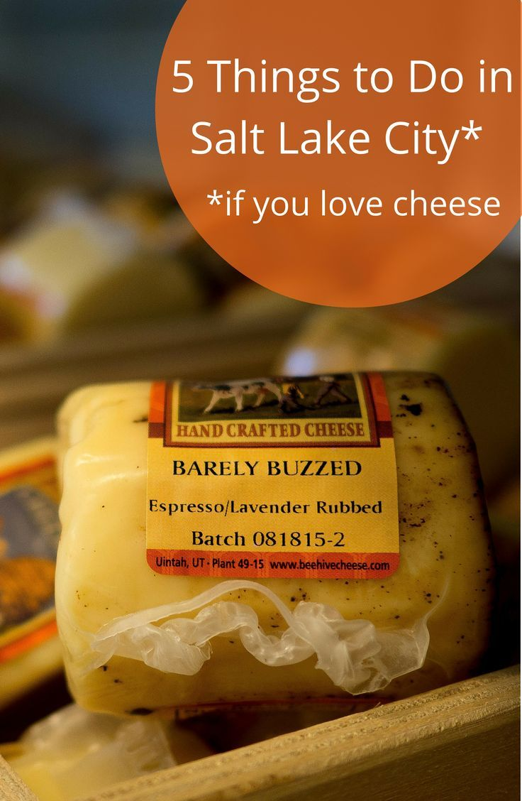 A can't miss list of 5 things to do in Salt Lake City Utah for cheese lovers including: delis, shops, dairies and farmer's markets