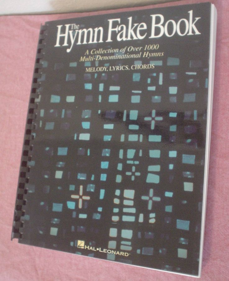 The Hymn Fake Book A Collection of Over 1000 Multi-Denominational Hymns Melody, Lyrics and Chords Sheet Music Ring Binding Musician EC BIN by HerOptionsforYou on Etsy