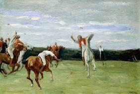 Max Liebermann - Polo player in Jenischpark, Hamburg, 1903 (oil on canvas)