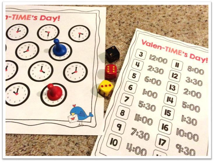 ValenTIMEs Day math center!