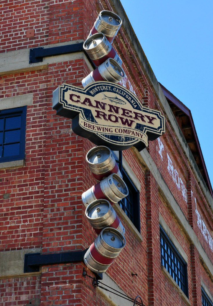 The Cannery Row Brewing Company is one of my favorite places for lunch in Monterey, CA.