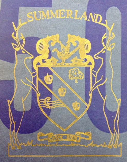 Summerland coat of arms