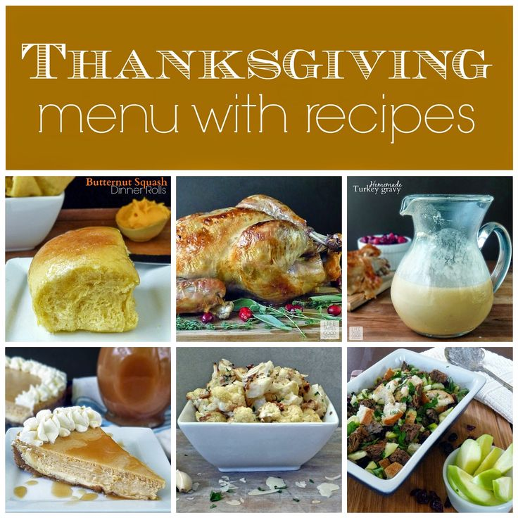 Thanksgiving Dinner Menu and Recipes | by Life Tastes Good brings together all the recipes you need for Thanksgiving in one place to make things easier on the big day. Now that is something for which to be thankful!