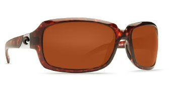 Costa Del Mar Isabela 580P Lens - Tortoise Frame with Copper 580 Lens