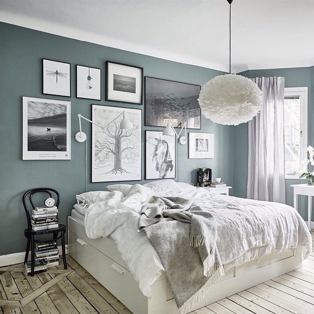 Josefin @fouremptywalls Lovely green wall...Instagram photo | Websta (Webstagram)