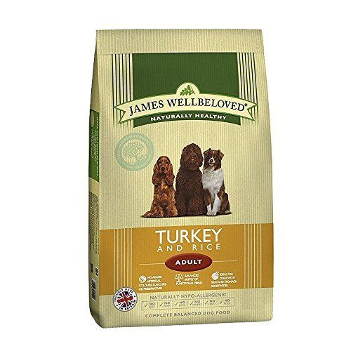 James Wellbeloved Dog Food Adult Turkey and Rice Kibble 15kg This is one of the popular selling items in Pet Supplies category in UK. Click below to see its Availability and Price in YOUR country.