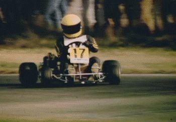 senna drifting guessing 1979/80..looks like a DAP kart and DAP T70/T72 TT