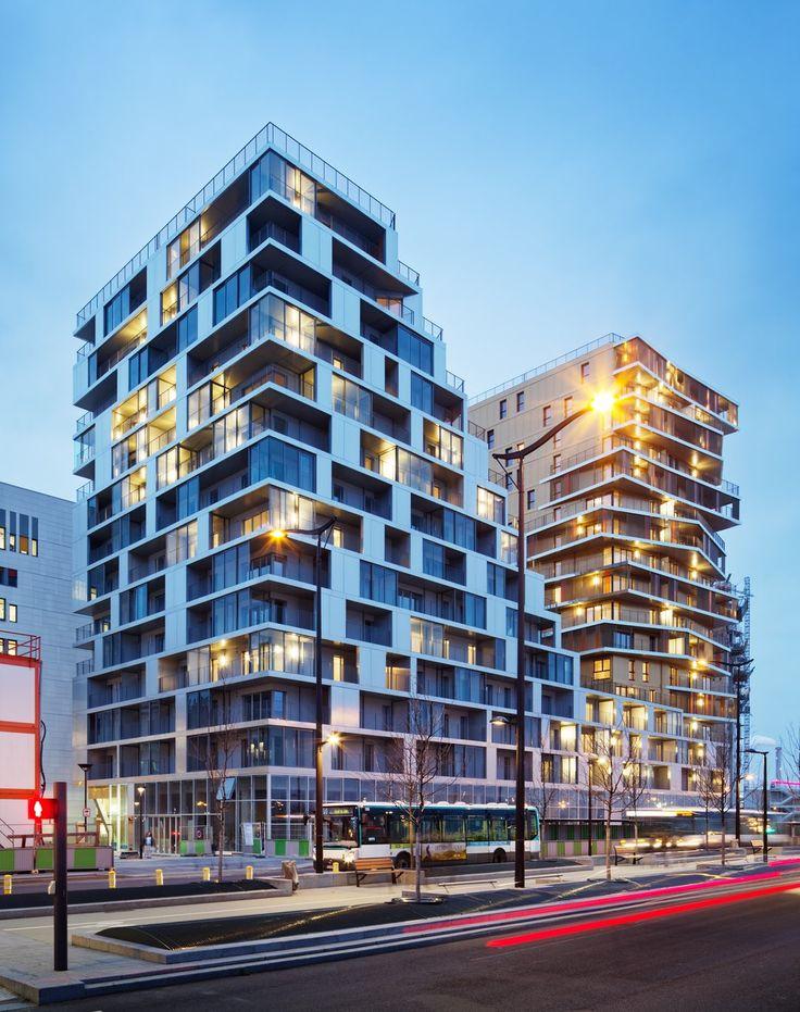 191 best multi residential architecture images on. Black Bedroom Furniture Sets. Home Design Ideas