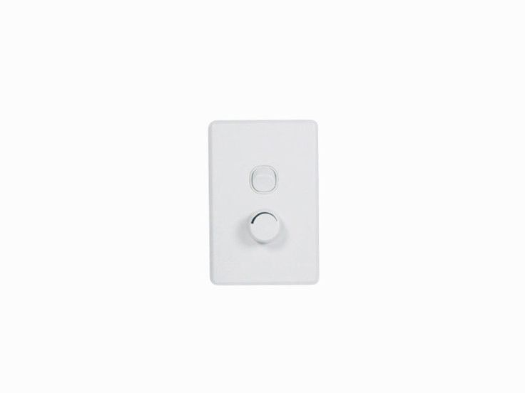 Clipsal Light Switch & Universal Dimmer Wall Plate 450W C2032E450UD Classic
