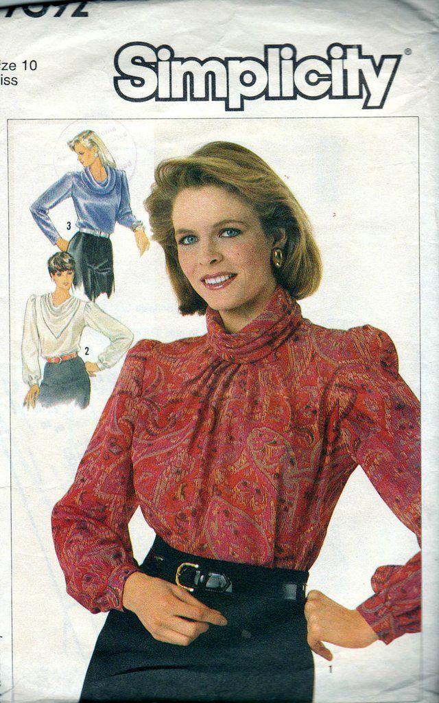 80s Blouse 6X