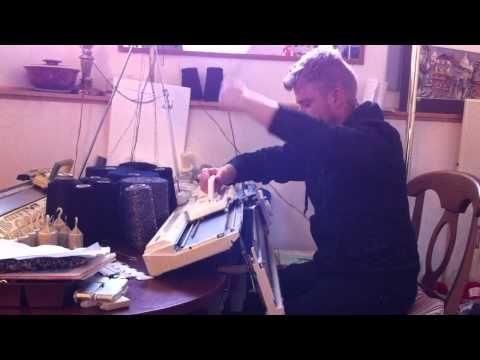 Kevin Kramp machine knitting